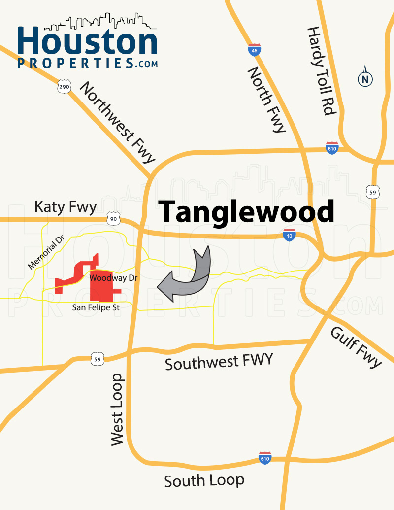 Tanglewood Map