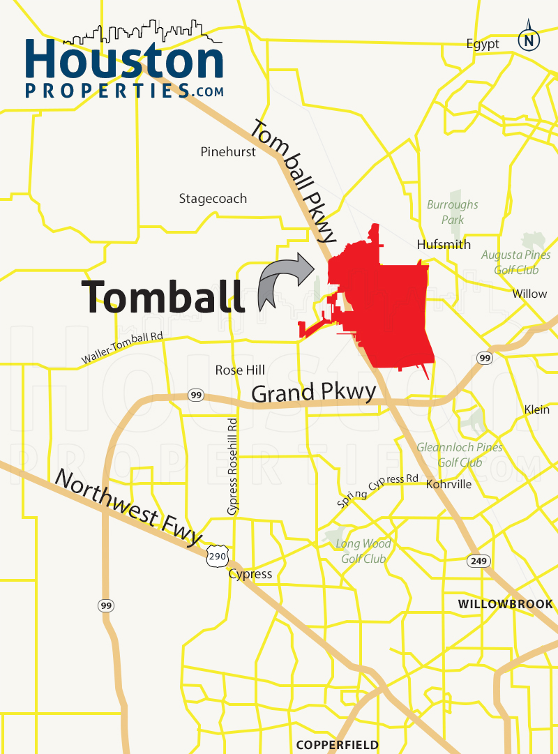 Tomball Map