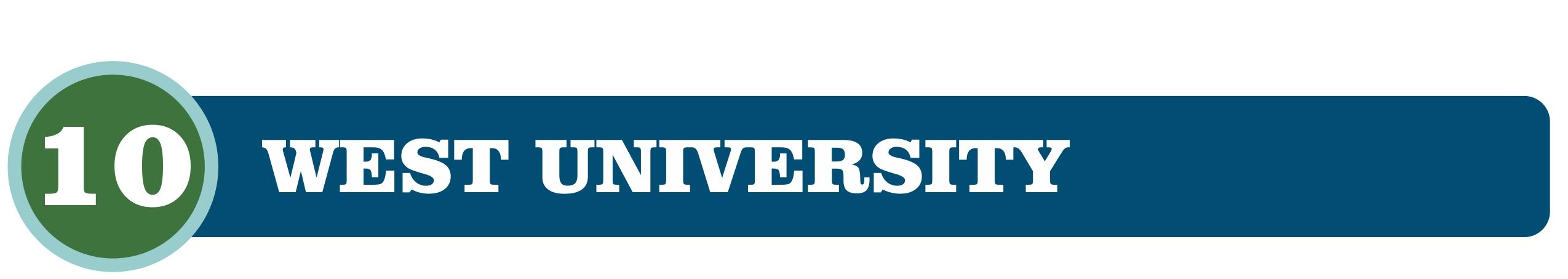 West University Header