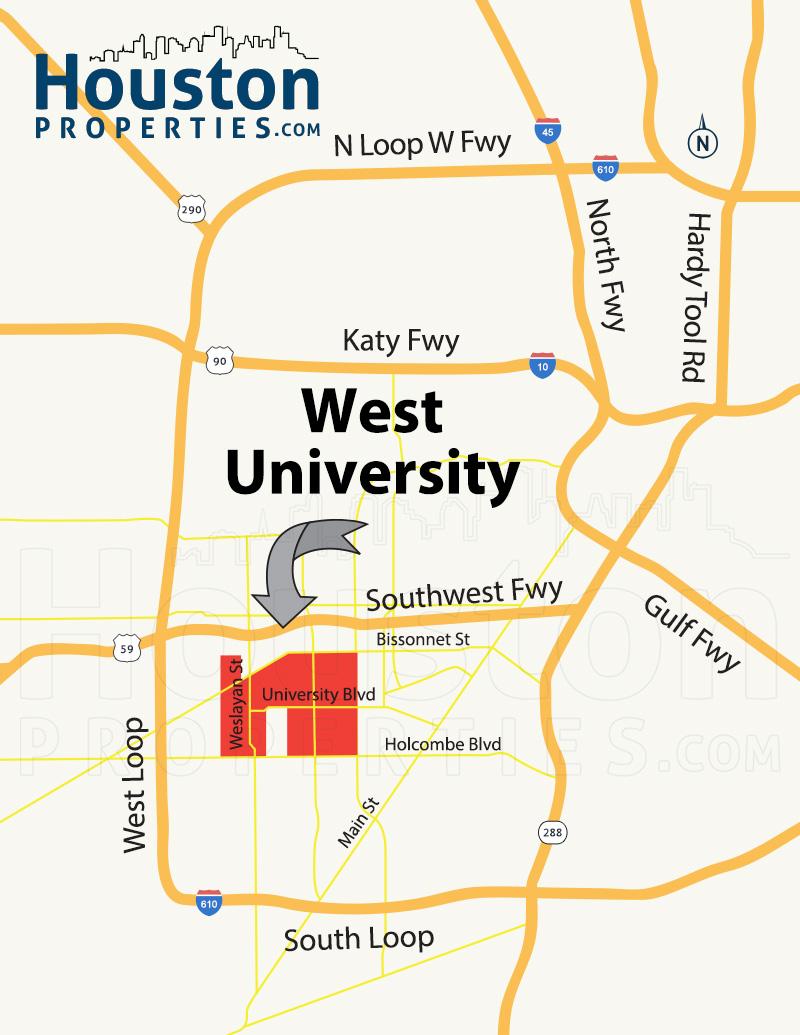 West University Map